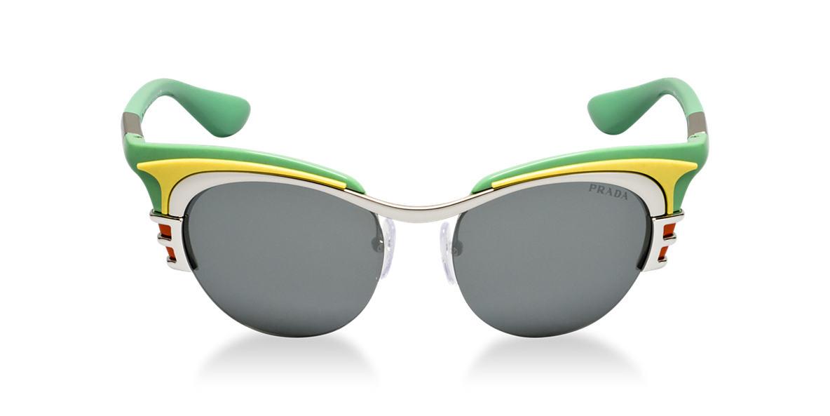 PRADA Green PR 60OS Grey lenses 52mm