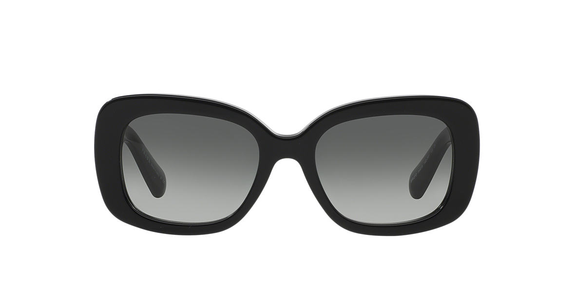 PRADA Black PR 27OS Grey lenses 54mm