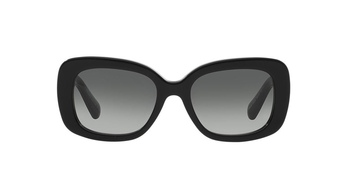 PRADA Black PR 27OS Grey lenses 54mm