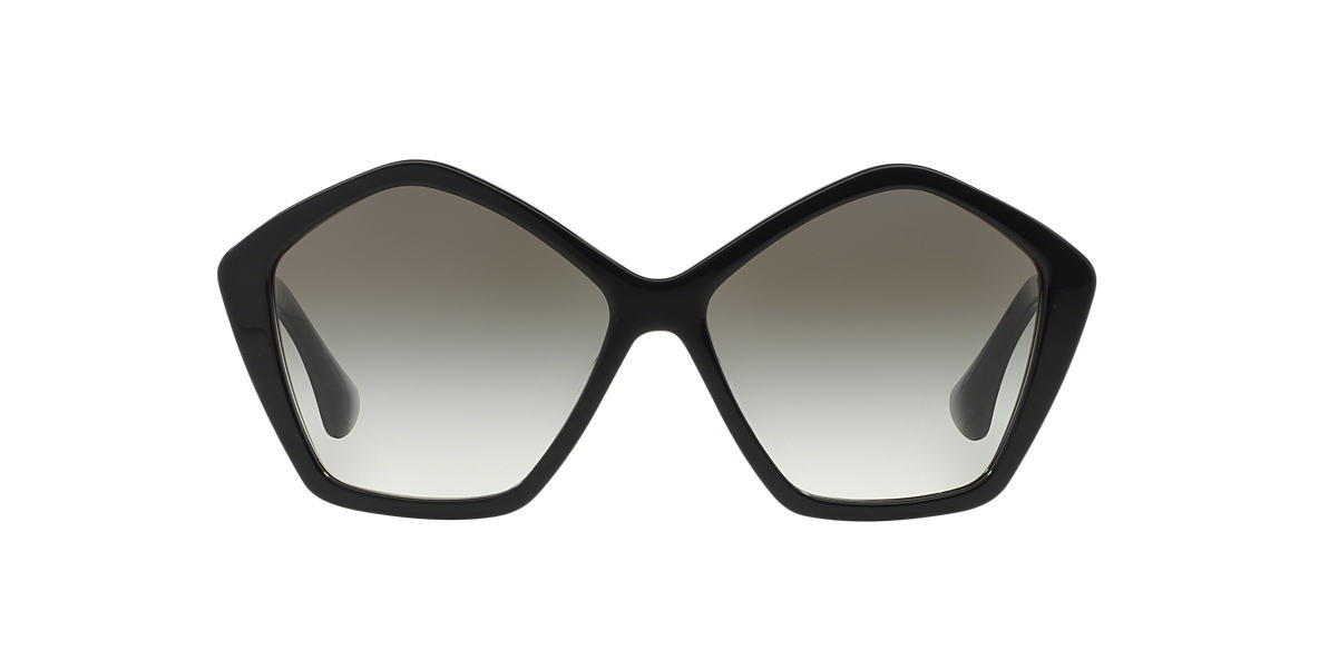 MIU MIU Black MU 11NS Grey lenses 57mm