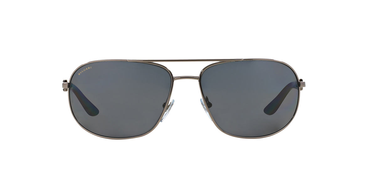 BVLGARI SUN Multicolor BV5028 Grey polarized lenses 64mm