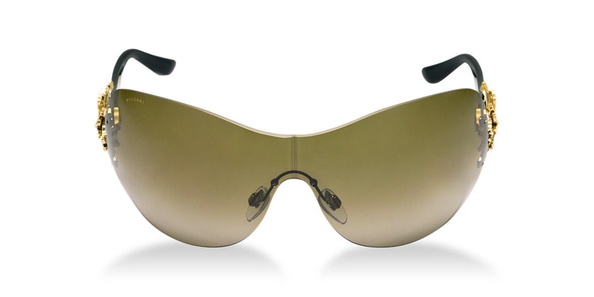 BVLGARI SUN Gold BV6064B Grey lenses 37mm