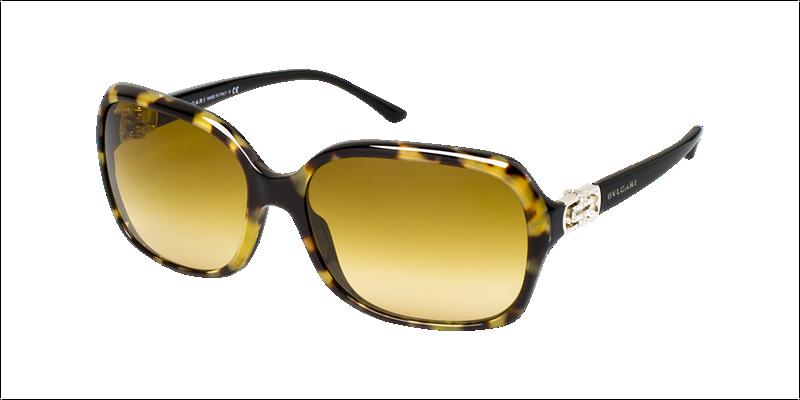 4d29bf955862 BVLGARI Sunglasses BV 8106B 824 2L Havana On Black 59mm