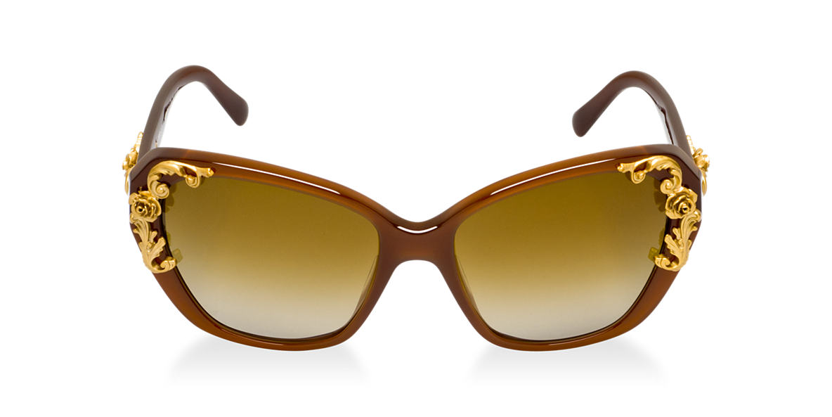 DOLCE and GABBANA Brown DG4167 Brown polarized lenses 59mm