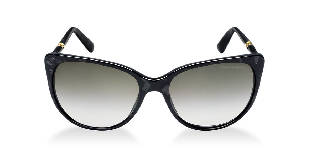 DOLCE & GABBANA Black DG4156 Brown lenses 56mm