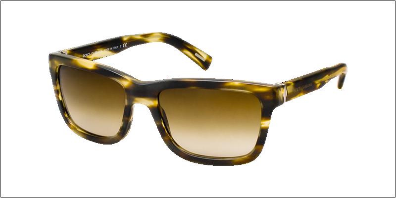 772f8b6002cb DOLCE   GABBANA Sunglasses DG 4161 267213 Matte Striped Brown 57mm