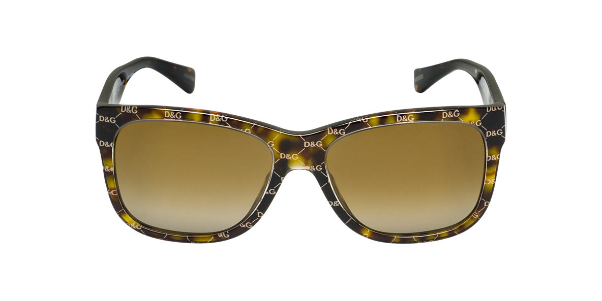 DOLCE and GABBANA Brown DG4158P Brown polarized lenses 55mm