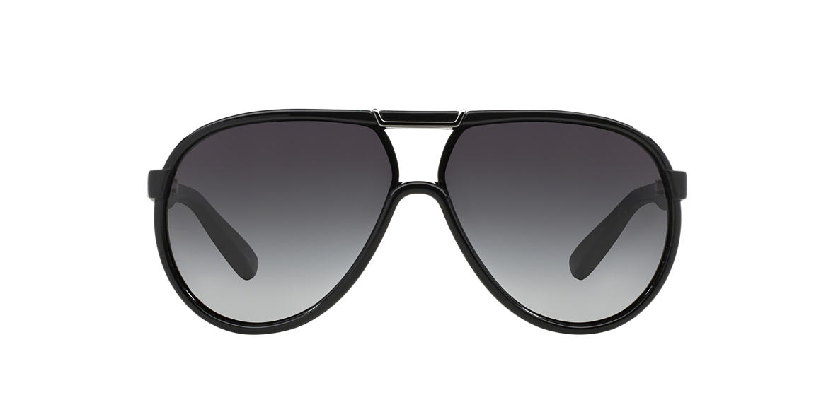 DOLCE and GABBANA Black DG6078 Grey lenses 61mm