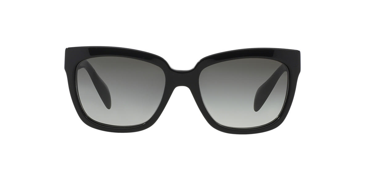 PRADA Black PR 07PS Grey lenses 56mm