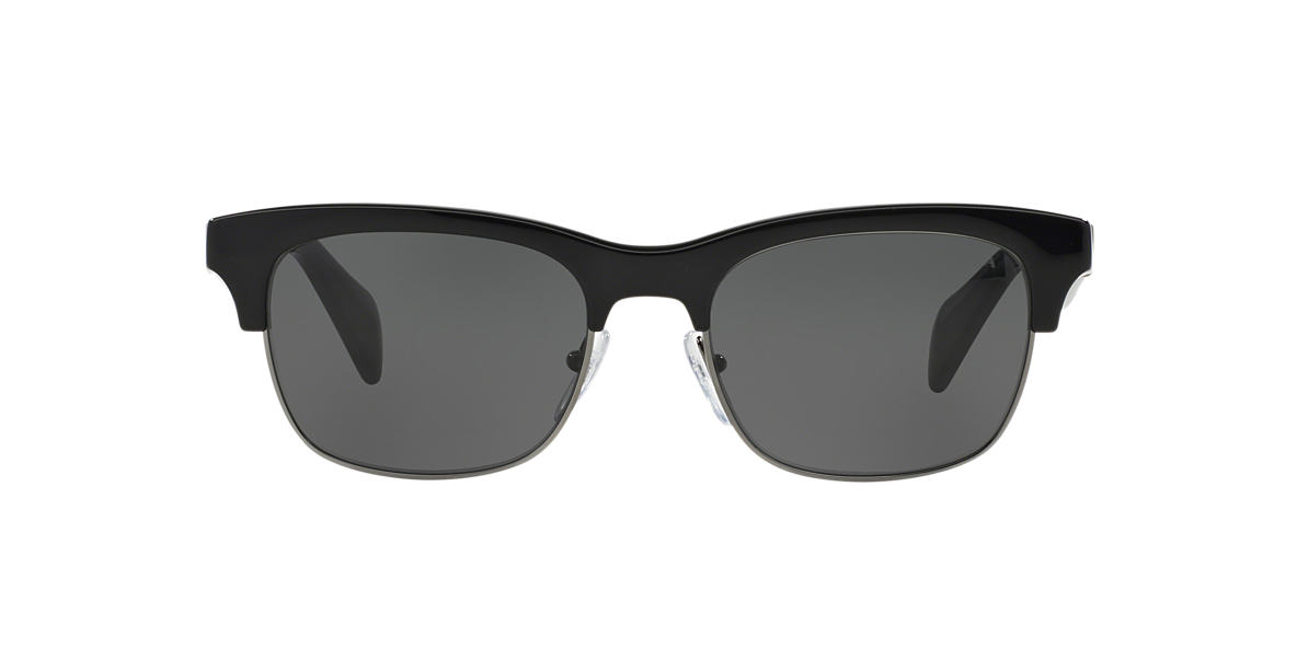 PRADA Black PR 11PS Grey lenses 54mm