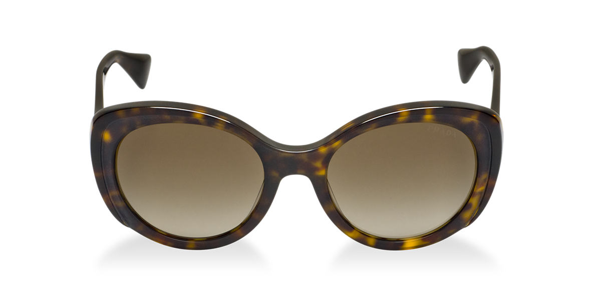PRADA Tortoise Matte PR 12PS Brown lenses 54mm