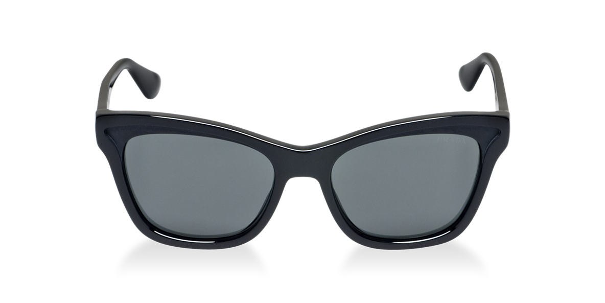 PRADA Black PR 16PS Grey lenses 54mm