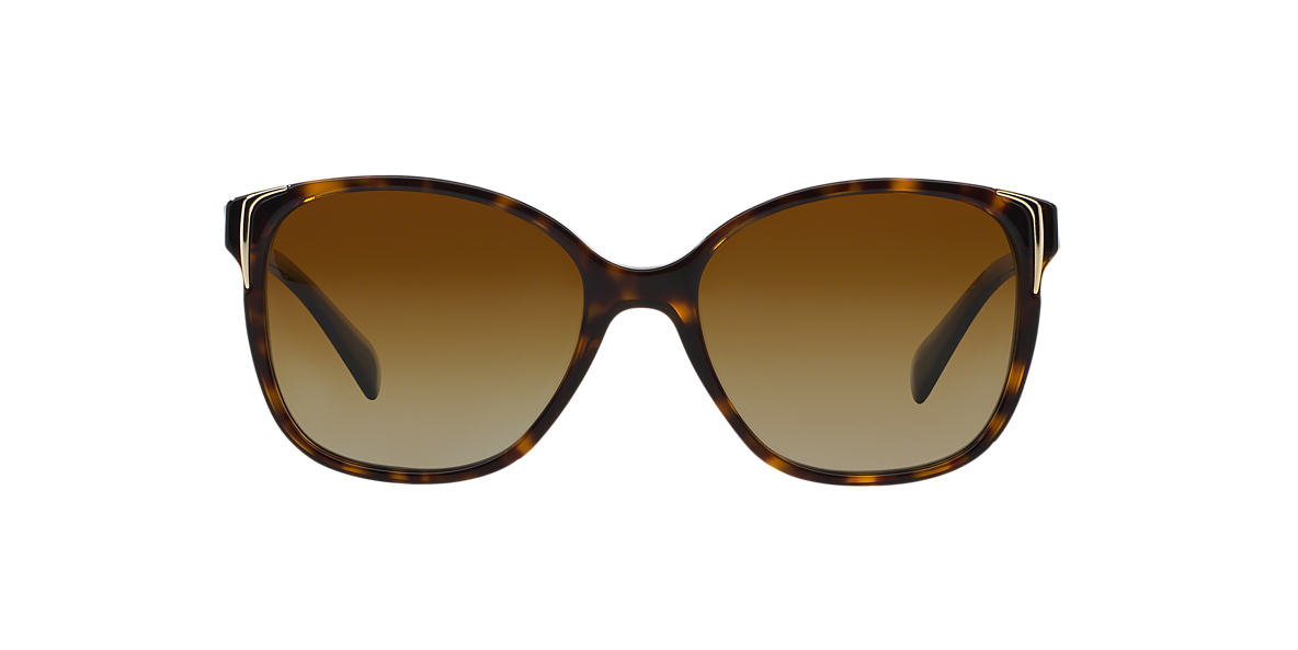 PRADA Brown PR 01OS Brown polarized lenses 55mm