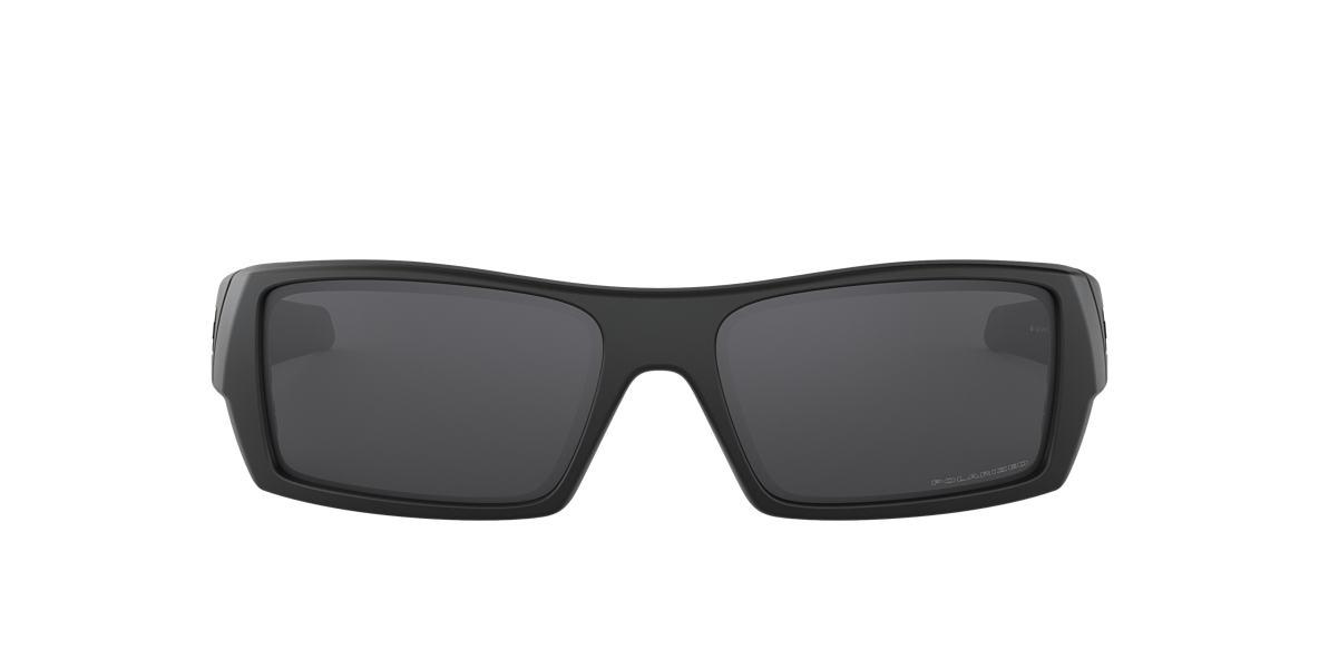 OAKLEY Black Matte OO9014 GASCAN Grey polarized lenses 61mm