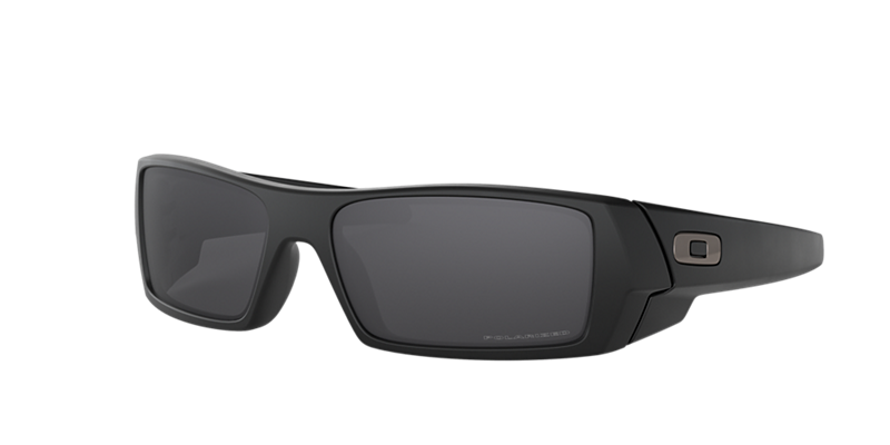 Oakley Oo9014 Gascan Black Matte Rectangle Sunglasses