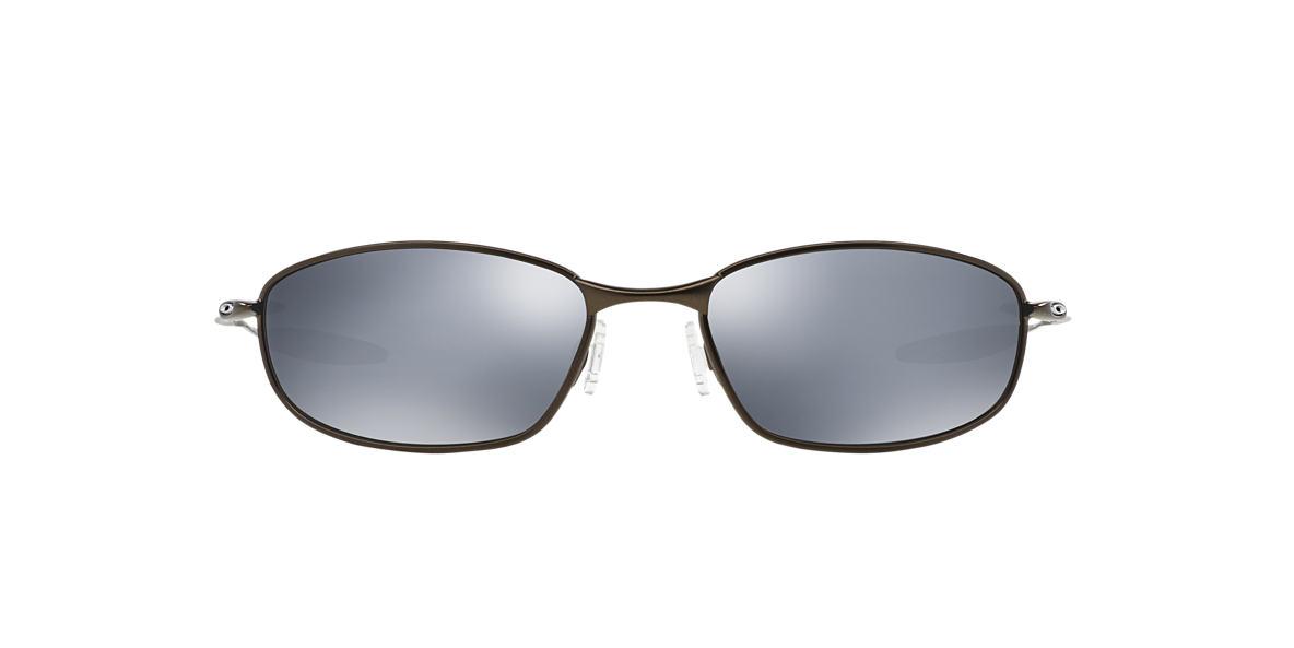 OAKLEY Silver OO4020 WHISKER Black polarized lenses 60mm