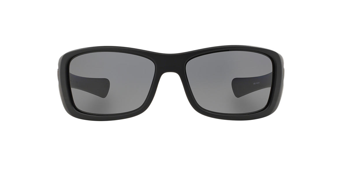 OAKLEY Black OO9021 Grey polarised lenses 64mm