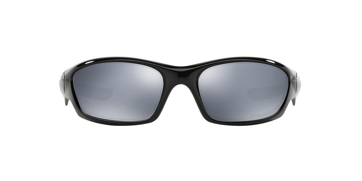 OAKLEY Black  Black polarised lenses 61mm