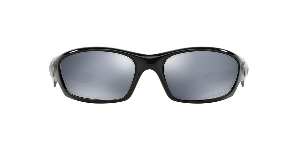 OAKLEY Black OO9039 STRAIGHT JACKET Black polarized lenses 61mm