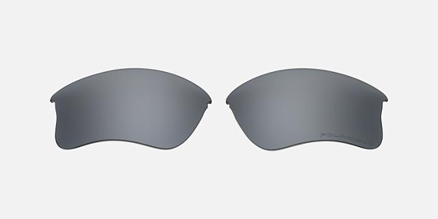 FLAK JACKET XLJ LENS BLACK IRIDIUM POLAR $90.00