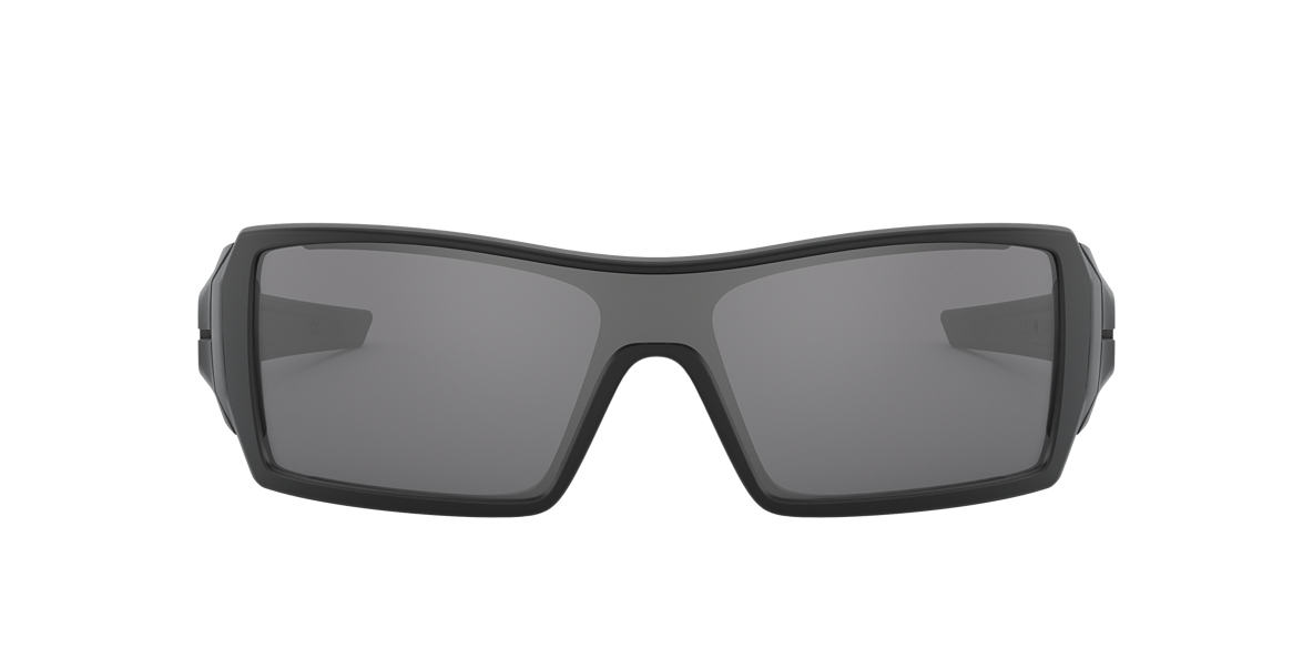 OAKLEY Black Matte OO9081 OIL RIG Black lenses 28mm