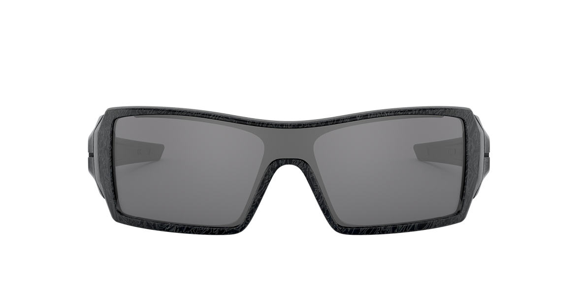 OAKLEY Black OO9081 OIL RIG Black lenses 28mm