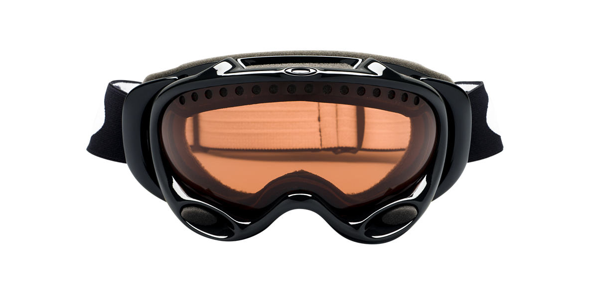 OAKLEY Black Shiny OO7001 A FRAME Brown lenses 00mm