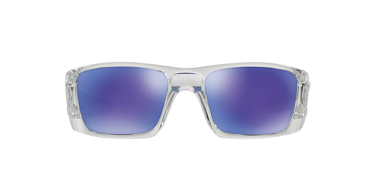 OAKLEY Clear OO9096 FUEL CELL Purple lenses 60mm