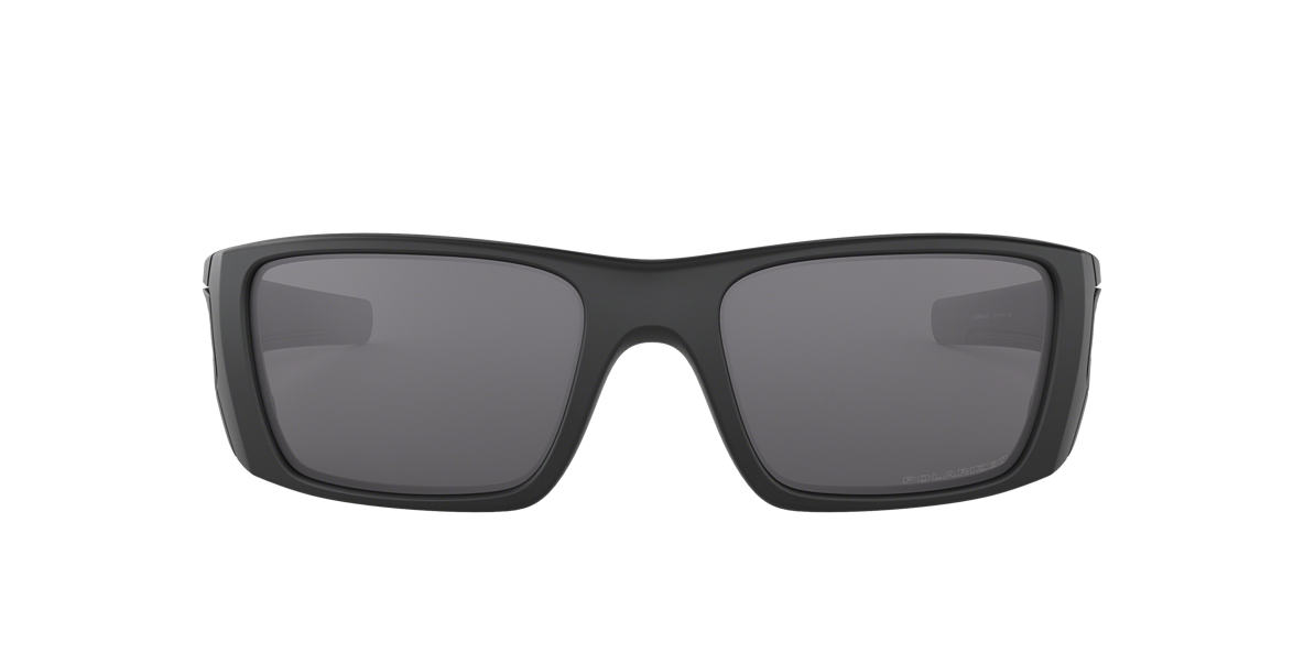 OAKLEY Black Matte OO9096 FUEL CELL Grey polarized lenses 60mm