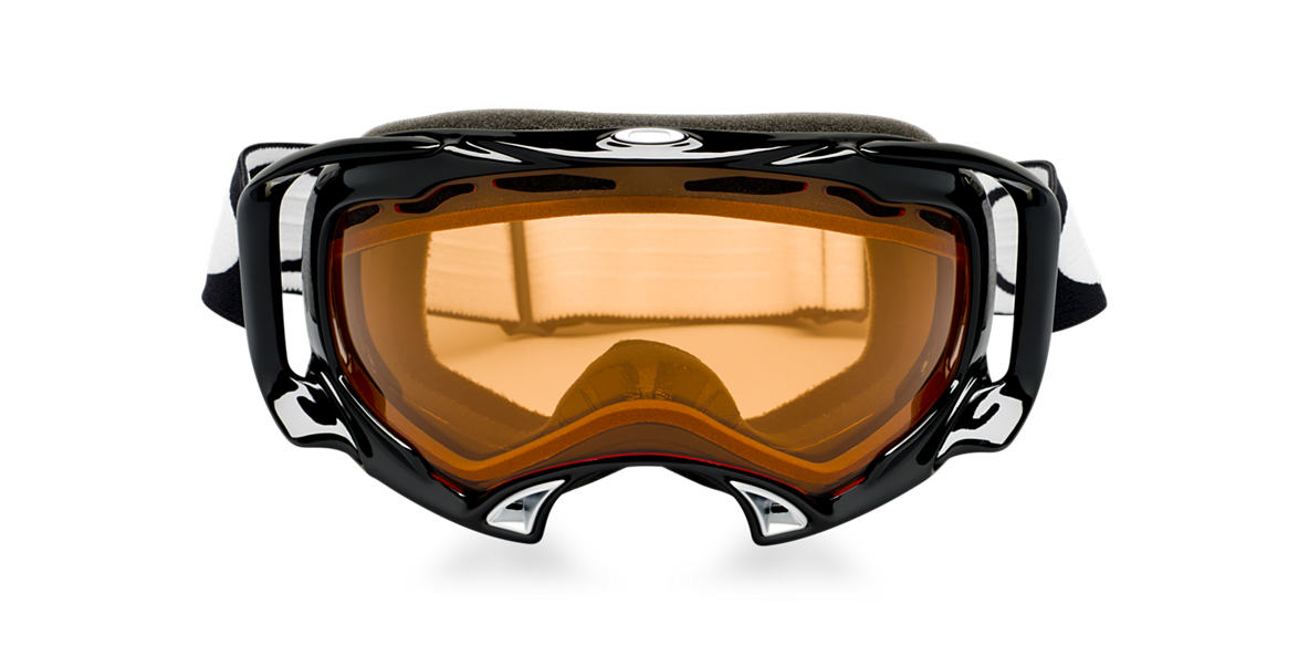 OAKLEY Black OO7022 SPLICE Orange lenses 57mm