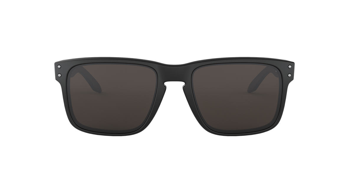 OAKLEY Black Matte OO9102 HOLBROOK Grey lenses 55mm