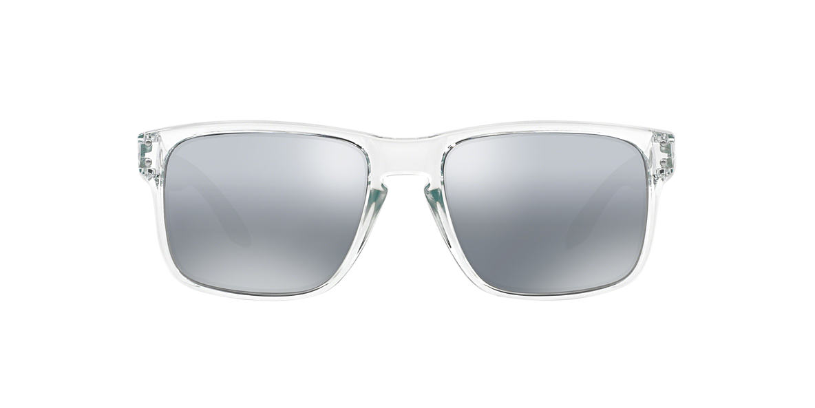 OAKLEY Clear OO9102 HOLBROOK Silver lenses 55mm