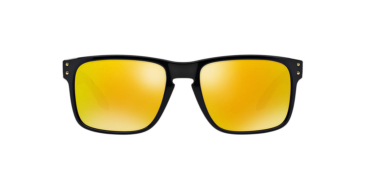 OAKLEY Black OO9102 HOLBROOK Gold lenses 55mm