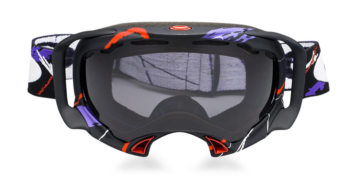 OAKLEY White OO7022 SPLICE SIMON DUMONT Black lenses mm