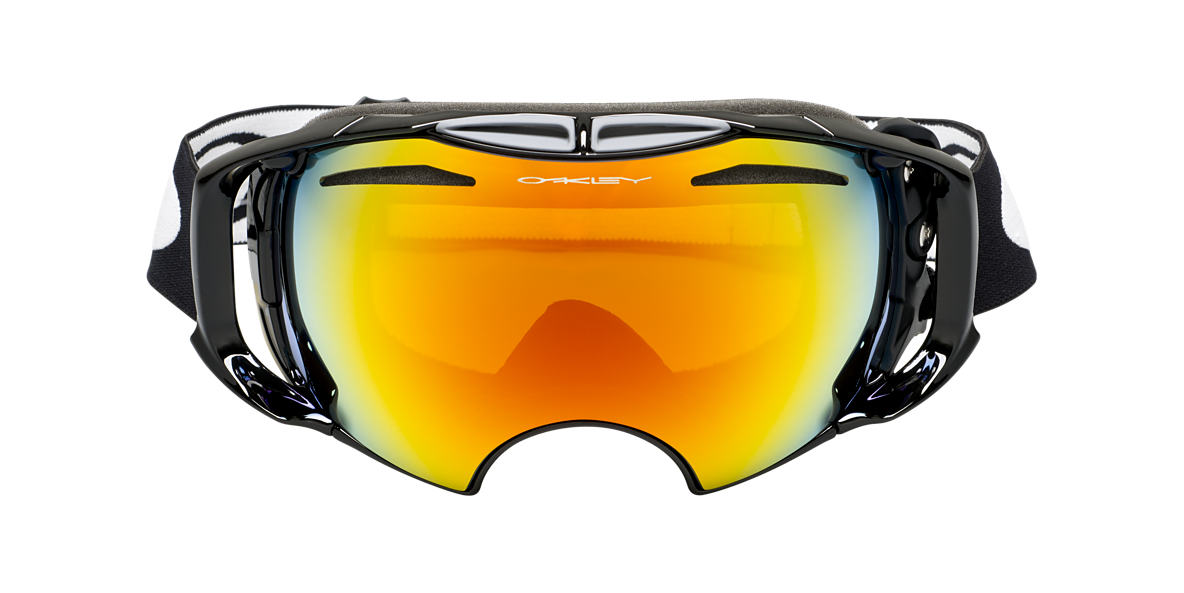 OAKLEY Black OO7037 AIRBRAKE Orange lenses 00mm