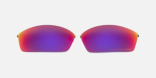 FLAK JACKET LENS RED POLAR $80.00