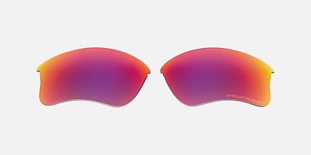 FLAK JACKET XLJ LENS RED POLAR $90.00