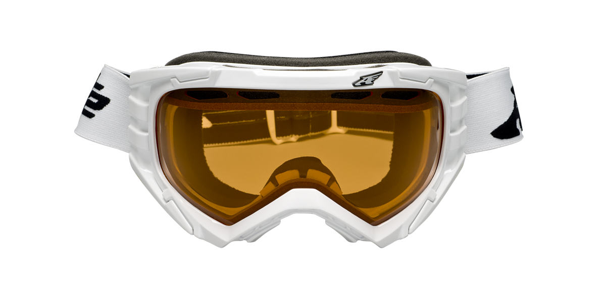 ARNETTE GOGGLES White AN5002 MERCENARY Orange lenses 00mm