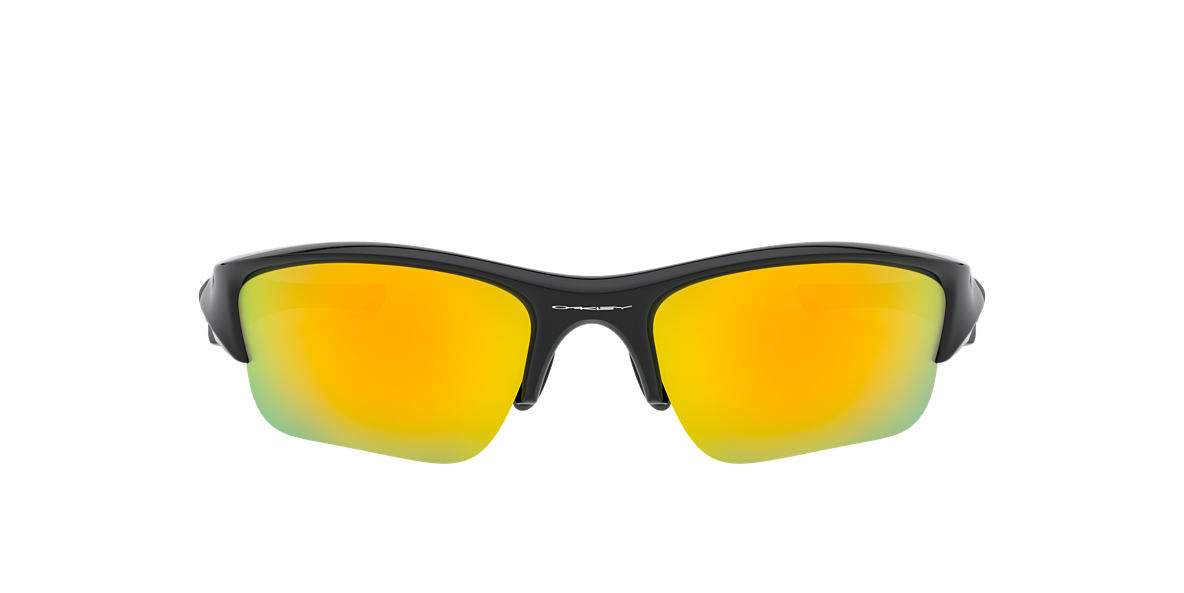 OAKLEY Black OO9011 FLAK JACKET XLJ Orange lenses 63mm