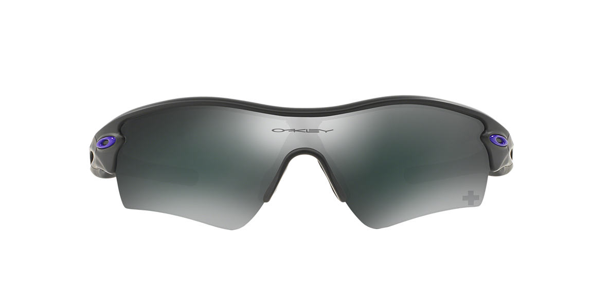 OAKLEY Gunmetal OO9051 RADAR PATH Black lenses 33mm
