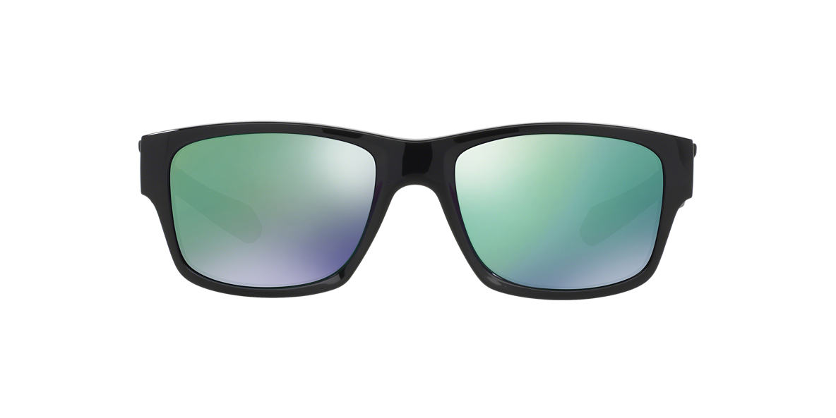 OAKLEY Black OO9135 JUPITER SQUARED Green lenses 56mm
