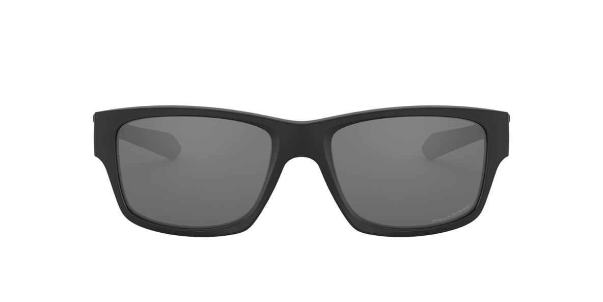 OAKLEY Black Matte OO9135 JUPITER SQUARED Black polarized lenses 56mm