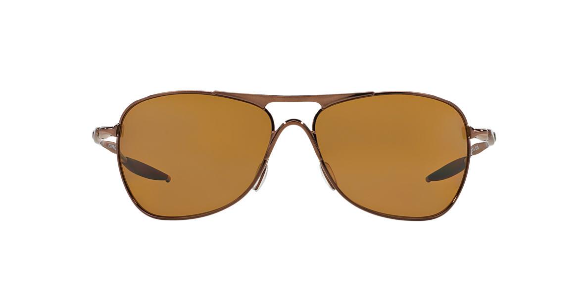 OAKLEY Brown OO4060 CROSSHAIR Bronze polarized lenses 61mm