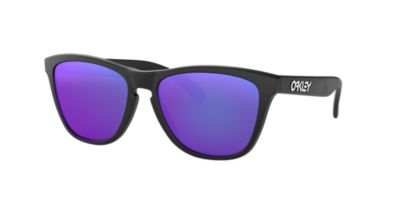oakley sunglasses usa  Oakley OO9013 FROGSKINS 55 Purple \u0026 Black Matte Sunglasses ...