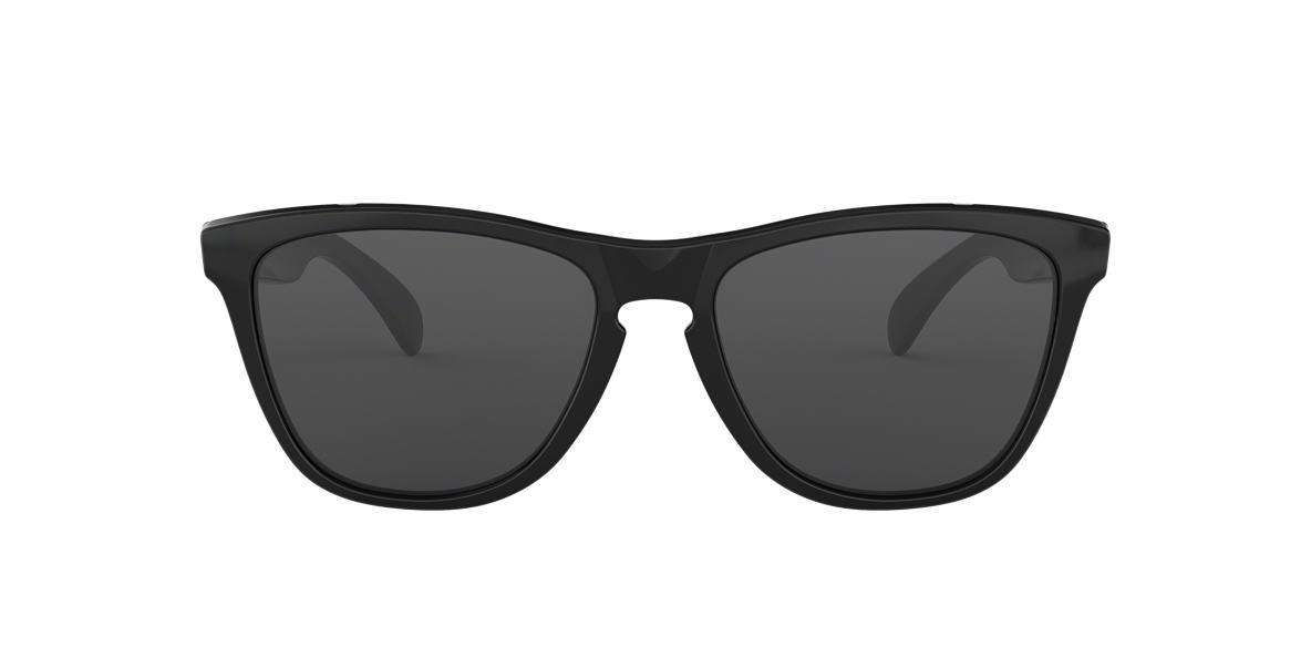 OAKLEY Black Shiny OO9013 FROGSKIN Grey lenses 55mm