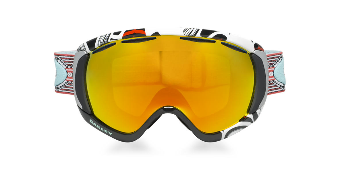 OAKLEY Black OO7047 CANOPY Orange lenses 00mm