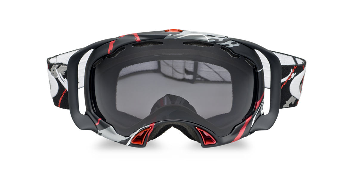 OAKLEY Black OO7022 SPLICE SIMON DUMONT Grey lenses mm