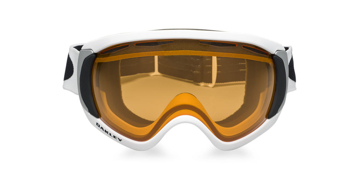 OAKLEY White OO7047 CANOPY Orange lenses mm
