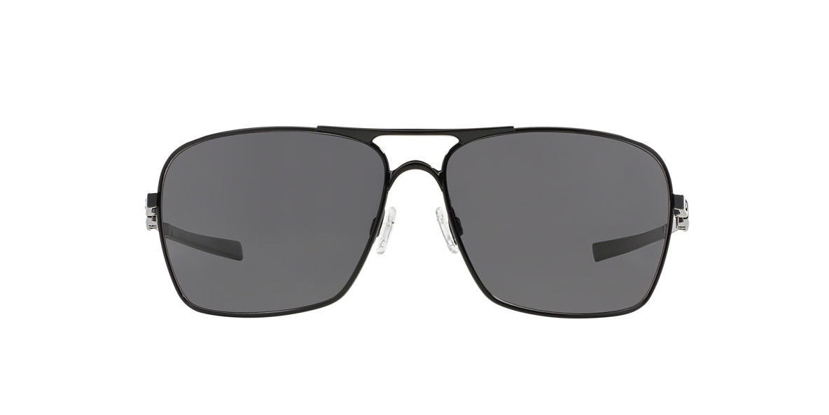 OAKLEY Black OO4063 PLAINTIFF SQUARED Grey lenses 63mm