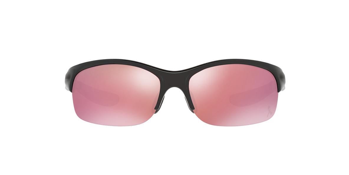 OAKLEY WOMENS Black COMMIT SQ YSC Pink lenses 62mm